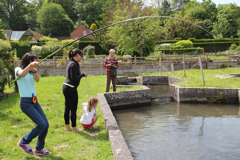 pêche bassin pisciculture